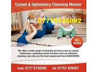Carpet & Upholstery Cleaning Master Leeds Doncaster Wakefield