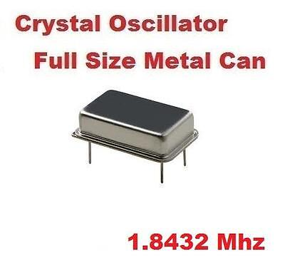 1.8432mhz 1.8432 Mhz Crystal Oscillator Full Can Qty 10  New