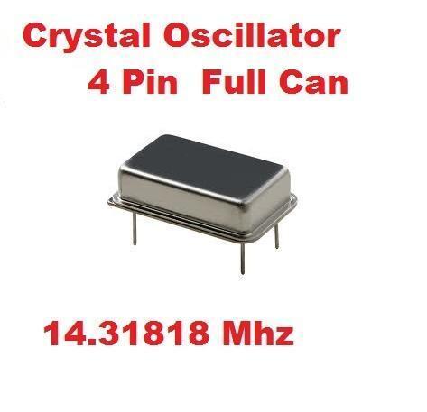 14.31818Mhz 14.31818 Mhz CRYSTAL OSCILLATOR ( Qty 10 )