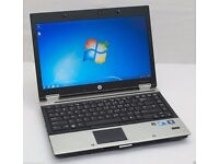 HP EliteBook 8440p laptop 250gb or 750gb hd 8gb ram Intel 2.4ghz Core i5 processor