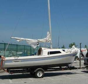 WTB: Starter sailboat, 16 or 17 feet with trailer & small engine
