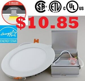 """4"""" .LED pot lights .with driver in isolated Box .ETL approved"""