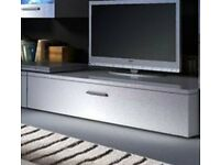 NEW TV STAND UNIT CABINET WHITE
