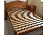 Heavy Duty Solid Pine Bed Frame