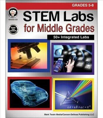 STEM Labs for Middle Grades: Grades 5 - 8, Paperback by Cameron, Schyrlet;
