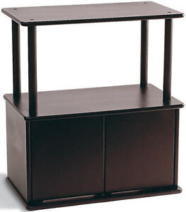 STAND WITH STORAGE AND DISPLAY SHELF