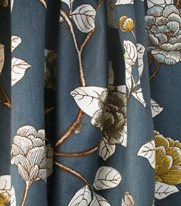 Floral Printed Upholstery Fabric For Sale