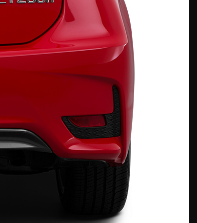 Lexus CT200H F Sport OEM Genuine LH Side REAR BUMPER GRILL INSERT 2014-2017