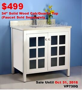 Bathroom Vanities on Sale(Extra 10% off in New Oshawa Store)