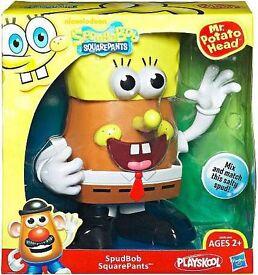 Spongebob square pants mr potato head