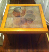 Mid-Century Danish Side Table Made & Signed by Sallingboe