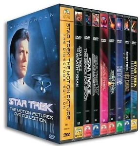 STAR TREK MOTION PICTURES DVD COLLECTION