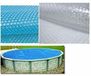 New Above Ground Swimming Pool Solar Blanket Covers 8 Or 12 Mil Available
