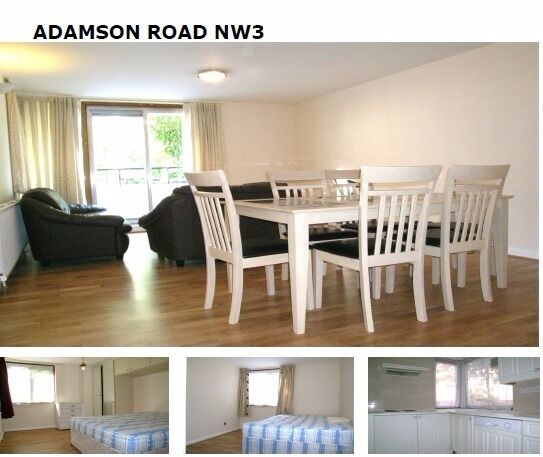 2 bed apartment NW3
