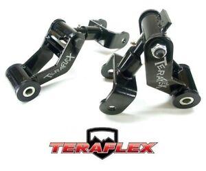 TeraFlex YJ Front Revolver Shackle Kit Pair for 1987-1995 Jeep Wrangler