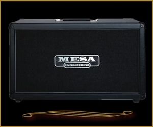 """Mesa 2 X 12"""" Rectifier cabinet - as new - Celestion V30's"""
