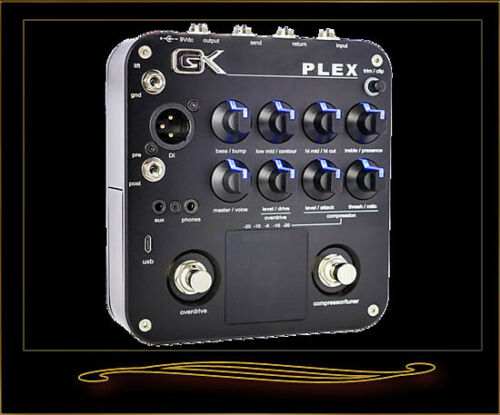 Gallien-Krueger PLEX Bass Preamp Pedal with USB