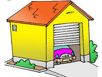 Wanted garage to rent millhouses