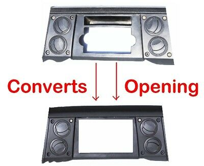 NEW Radio Stereo Double Din Dash Install Kit Bezel Fits 2006-2007 Jeep Commander