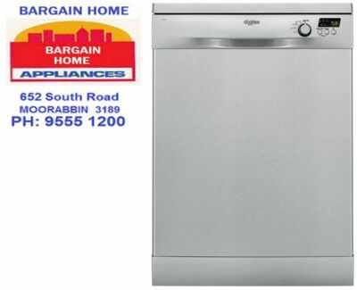 DISHLEX DSF6205X Freestanding dishwasher in stainless steel Moorabbin Kingston Area Preview
