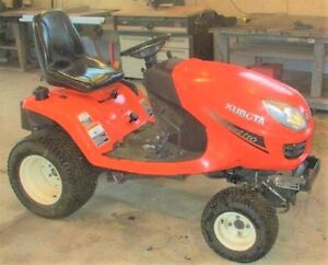 Kubota Diesel Lawn and Garden Tractor St. John's Newfoundland image 2