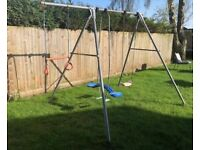 TP Double Swing Set with Extension