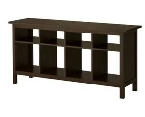 IKEA HEMNES Console Table / TV Stand in Brown/Black