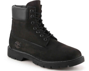 Timberland black 6- inch boots waterproof NEW - $115