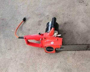 "Craftman 10"" chainsaw"
