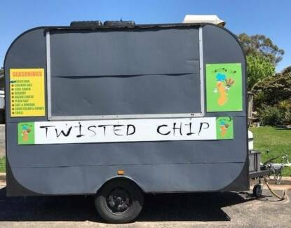 Twisted Chip Food Van Business For Sale