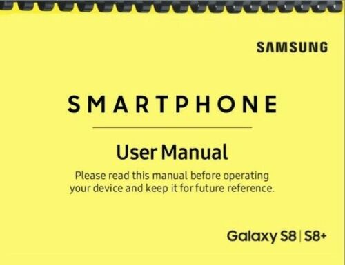 Samsung Galaxy S8 S8+ AT&T OWNER