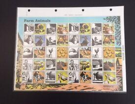 Stamps - GB Royal Mail 5 Smiler Sheets 2005