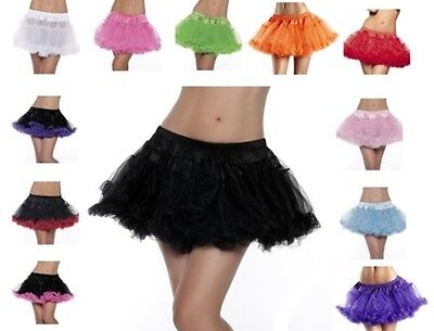 NWT sexy BE WICKED layered FLUFFY pettiskirt COSTUME skirt TUTU tootoo PETTICOAT](Tootoo Skirt)
