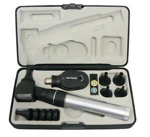 Keeler-Practitioner-2-8v-Fibre-Optic-Diagnostic-Set-FREE-LASER-ENGRAVING