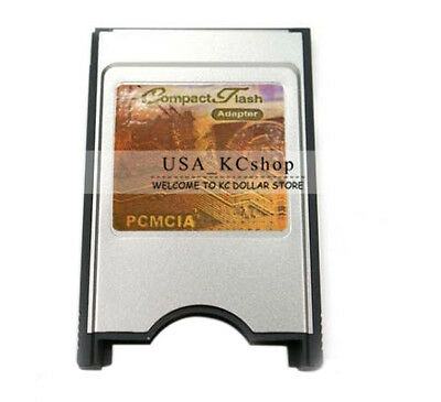 New PCMCIA Compact Flash CF Card Reader Adaptor for Laptop P