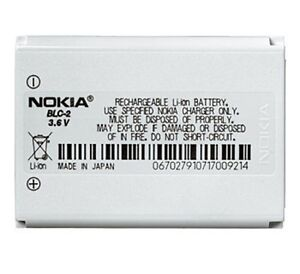 NEW OEM NOKIA BLC-2 BLC2 BATTERY FOR 3595, 6010, 6651, 6800, 5510, 3350, 3330