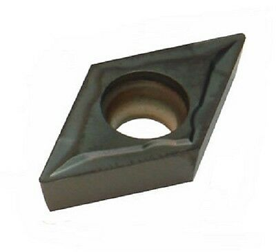 Cobra Carbide Dcmt21.51 Uncoated C520 Semi-finishing Finishing Insert Pack Of10