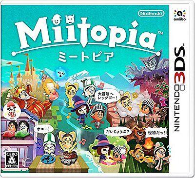 Brand New Nintendo 3Ds Miitopia