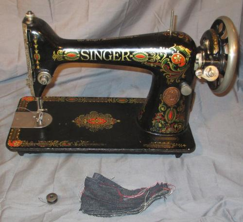 Singer 40 Sewing EBay Inspiration Singer Electric Sewing Machine 66 18 Value