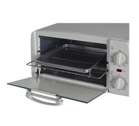 Mini oven grill toaster like new white very clean inside