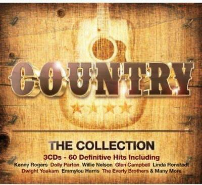 COUNTRY THE COLLECTION (2014) 60-track 3-CD digipak NEW/SEALED Dolly Parton