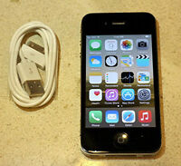 Apple iPhone 4s - 16GB - Space Gray. LIKE NEW! ORIGINAL!