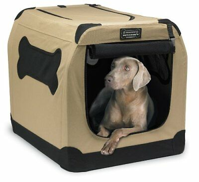 Dog Kennel Crate Comfortable Folding Soft Travel RV Pet Bed Cloth 36 Inches Big