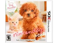 Nintendogs + Cats: Toy Poodle & New Friends (Nintendo 3DS, 2011)