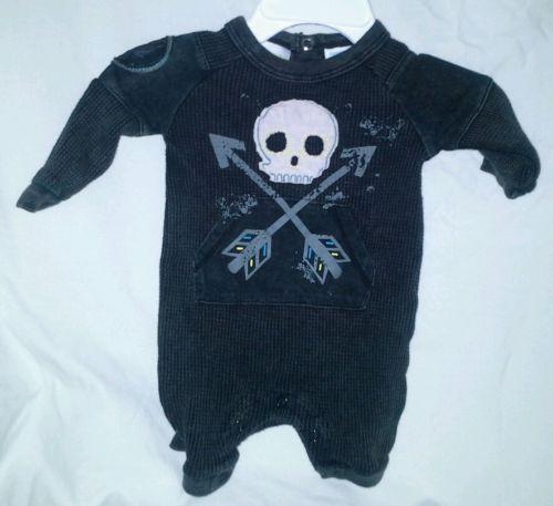 Amy Coe Skull Baby Amp Toddler Clothing Ebay