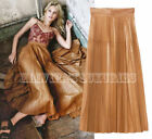 Gucci Pleat Leather Skirts for Women