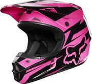 Pink Fox Racing Helmet