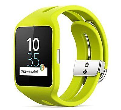 Sony Smart Watch (Lime) SONY SmartWatch 3 Bluetooth 4.0 Wristband SWR 50-G Japan