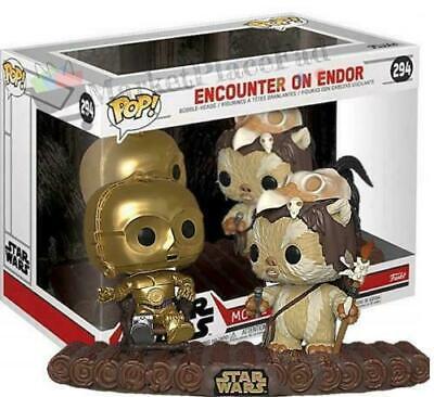 Funko POP! Star Wars - Movie Moments - #294 Encounter on Endor [C-3PO Ewoks]