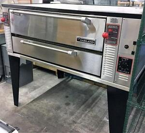 GARLAND STONE DECK GAS PIZZA OVEN - IN WOW CONDITION - Free shipping